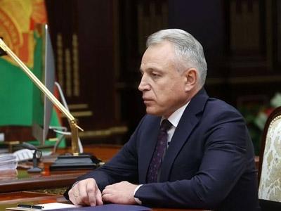 Встреча Президента Беларуси с председателем Федерации профсоюзов
